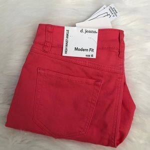 NEW wTag-d. Jeans Rose High Waist Ankle Jeans 6